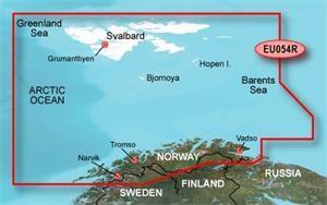 Garmin BlueChart G2 Vision - EU054R /Nórsko Vestfjd-Svalbard-Varanger/ REGULAR