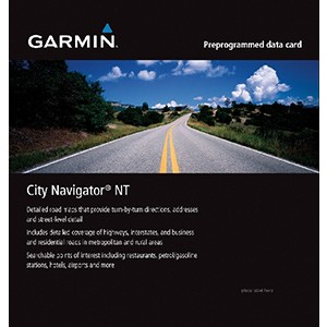 Garmin City Navigator Australia & New Zealand NT, microSD/SD
