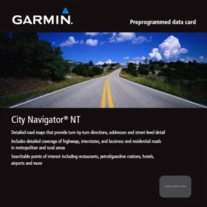 Garmin City Navigator Turkey NT, microSD/SD
