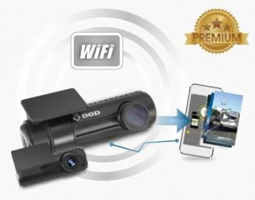 DOD RC500S - kamerový set do auta Wifi s GPS a DUAL 1080P