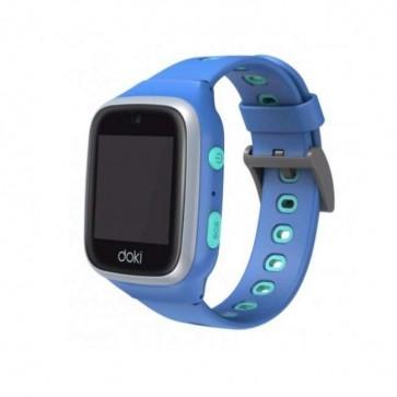 DokiPal detské chytré hodinky 4G LTE s videotelefónom – modrá