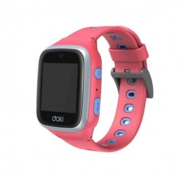 DokiPal detské chytré hodinky 4G LTE s videotelefónom – ružová