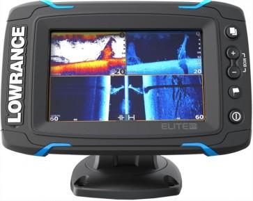 Dotykový sonar LOWRANCE Elite-5Ti so sondou TotalScan