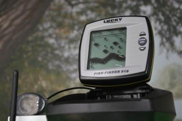 LUCKY Bezdrôtový sonar Fish Finder 918 s dosahom 300m