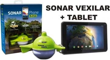 Vexilar nahadzovacií sonar + 7 palc. tablet