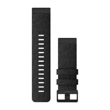 Garmin Nylonový remienok QuickFit™ 26 na zápästie fénix 6X - Heathered Black (ND)