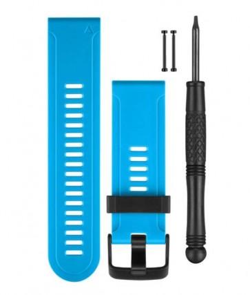 Garmin Silikonový remienok na zápästie pre fénix™ 3 - modrý