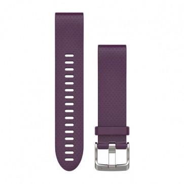 Garmin silikonový remienok QuickFit™ 20 na zápästie fénix 5S - fialový (ND)