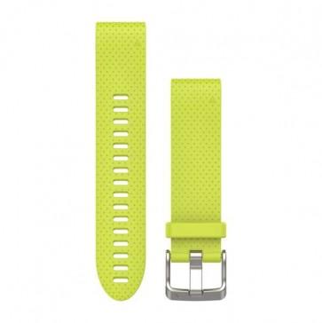 Garmin silikonový remienok QuickFit™ 20 na zápästie fénix 5S - žltý (ND)
