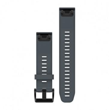 Garmin silikonový remienok QuickFit™ 22 na zápästie pre fénix 5 a Forerunner 935 - šedý (ND)