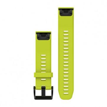 Garmin silikonový remienok QuickFit™ 22 na zápästie pre fénix 5 a Forerunner 935 - žltý (ND)