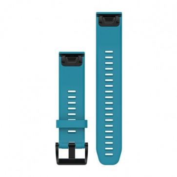 Garmin silikonový remienok QuickFit™ 22 na zápästie pre fénix 5 a Forerunner 935 - modrý (ND)
