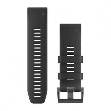 Garmin silikonový remienok QuickFit™ 26 na zápästie fénix 3 / 5X (Plus) / tactix - čierny (ND)