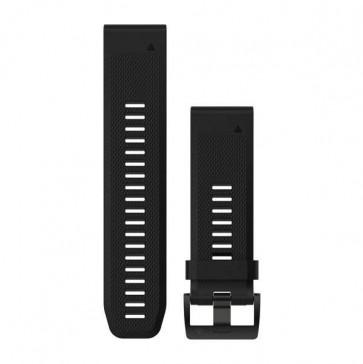 Garmin silikonový remienok QuickFit™ 26 na zápästie fénix 3 a 5X - čierny (ND)