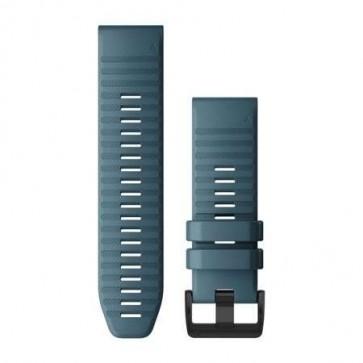 Garmin Silikonový remienok QuickFit™ 26 na zápästie fénix 6X - Lakeside Blue (ND)