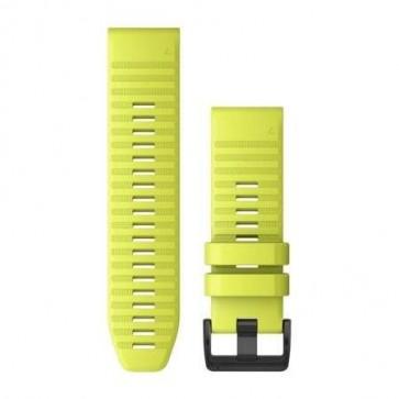 Garmin Silikonový remienok QuickFit™ 26 na zápästie fénix 6X - žltý (ND)