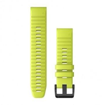 Garmin Silikonový remienok QuickFit™ 22 na zápästie fénix 6 - Amp Yellow (ND)