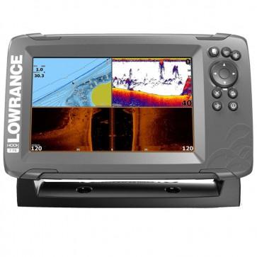 LOWRANCE HOOK2 - 7X GPS Chirp + DSI 120° + baterka 12V/12A + nabíjačka