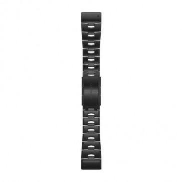 Garmin Titániový DLC Carbon Grey remienok QuickFit™ 26 na zápästie - fénix 6X (ND)