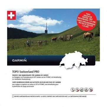 Garmin TOPO mapa - Švajčiarsko PRO, microSD™/SD™
