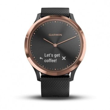 Garmin vívomove HR, Sport, Black-Rose Gold, SM
