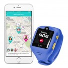DokiWatch S - detské hodinky s GPS a videotelefónom - Sonic Blue