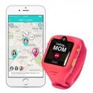 DokiWatch S - detské hodinky s GPS a videotelefónom - Dazzle Pink