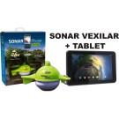 Vexilar nahadzovací sonar + 7 palcový tablet