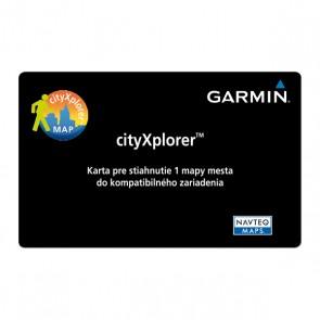 Garmin cityXplorer™ karta