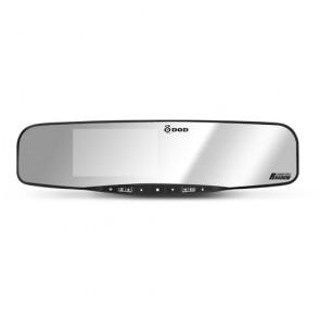 DOD RX400W Autokamera s GPS v spätnom zrkadle s možnosťou napojenia cúvacej kamery