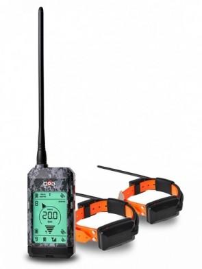 Dogtrace DOG GPS X22 sada pre dva psy - Čierny
