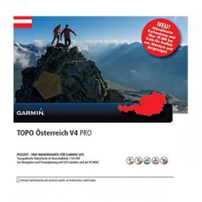 Garmin  TOPO mapa - Rakúsko v4 PRO, microSD™/SD™