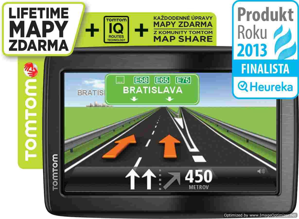 Obrázok TomTom Start 20 Europe LIFETIME mapy (1EN4.002.19)