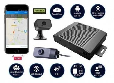 4G LTE WiFi dual systém do auta s GPS + Live web/app PROFIO X5