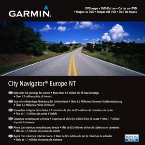 Garmin City Navigator Eastern Europe NT, microSD/SD