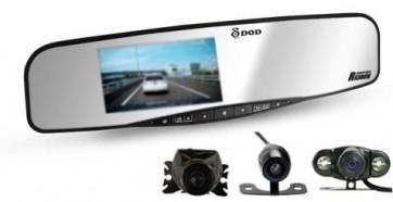 DOD RX300W Autokamera v spätnom zrkadle s možnosťou napojenia cúvacej kamery