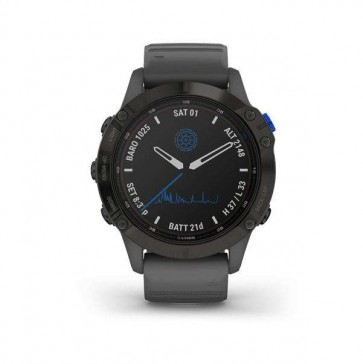 Garmin fenix 6 Pro Solar, Black, Slate Gray Band