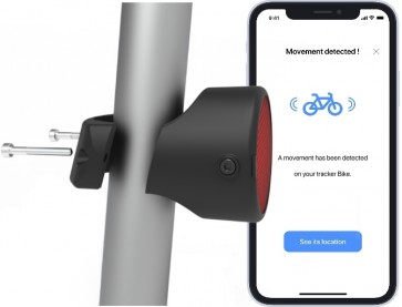 Invoxia Bike Tracker