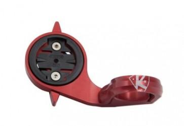 K-Edge vysunutý držiak pre Garmin na časovkárske nástavce - PRO, červená