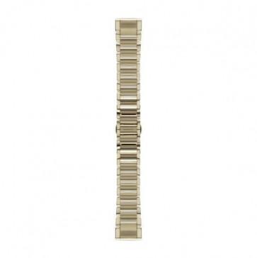Garmin kovový remienok fénix 5S Goldtone, QuickFit™ 20 na zápästie fénix 5S (ND)