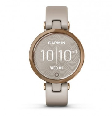 Garmin LILY, Sport, Rose Gold/Light Sand, Silicone