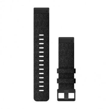 Garmin Nylonový remienok QuickFit™ 22 na zápästie fénix 6 - Heathered Black Nylon (ND)