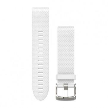 Garmin silikonový remienok QuickFit™ 20 na zápästie fénix 5S - biely (ND)