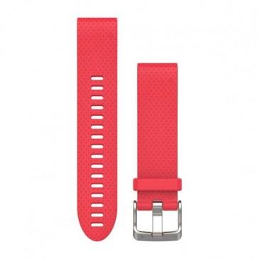 Garmin silikonový remienok QuickFit™ 20 na zápästie fénix 5S - ružový (ND)