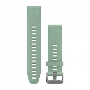 Garmin silikonový remienok QuickFit™ 20 na zápästie fénix 5S (Plus) - nefrit Grayed (ND)