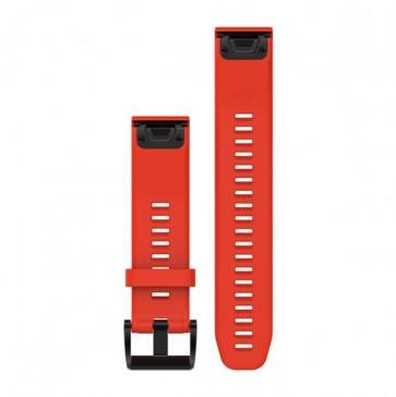 Garmin silikonový remienok QuickFit™ 22 na zápästie pre fénix 5 a Forerunner 935 - červený (ND)