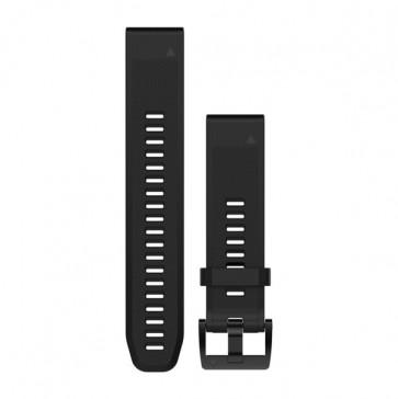 Garmin silikonový remienok QuickFit™ 22 na zápästie pre fénix 5 a Forerunner 935 - čierny ND)