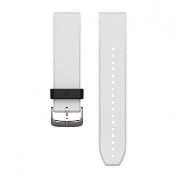Garmin silikonový remienok QuickFit™ 22 na zápästie pre fénix 5, Forerunner 935 - White ND)
