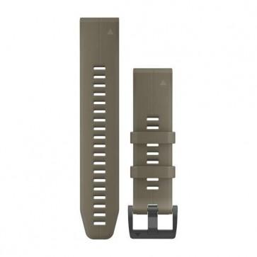 Garmin silikonový remienok QuickFit™ 22 na zápästie pre fénix 5 (Plus) a Forerunner 935 - Coyote tan (ND)
