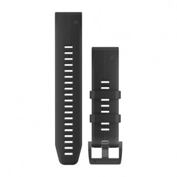 Garmin silikonový remienok QuickFit™ 22 na zápästie pre fénix 5 (Plus) a Forerunner 935 - čierny (ND)